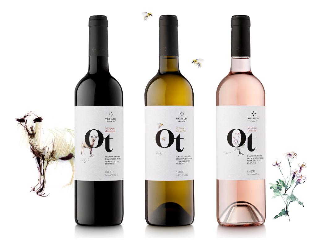 Diseño packaging vinos ecologicos